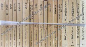 ケンブリッジ旧約聖書注解 EKK新約聖書註解 文字入り