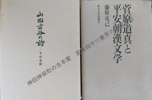 山田方谷の詩、菅原道真と平安朝漢文学